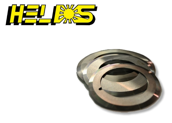 Couteaux circulaires - marque HELIOS (circular blades/knives for shear cut)